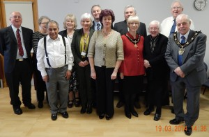 COMMITTEE WITH MAYOR AND MAYORESS